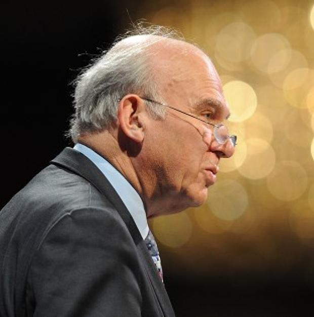 Vince Cable says uncertainty over the EU is 'potentially driving away investors and the jobs they create'