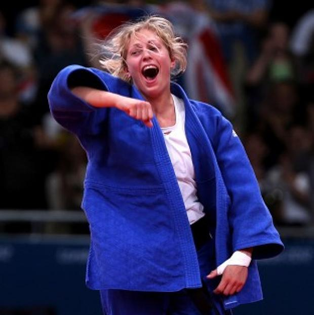 Gemma Gibbons, pictured, claimed British Championship gold after defeating Laura Dangerfield in just eight seconds