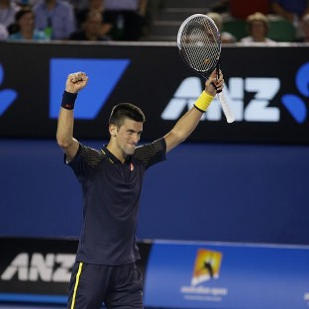 Novak Djokovic eased into the final of the Australian Open (AP)