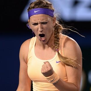 Victoria Azarenka, pictured beat Li Na to claim the Australian Open title (AP)