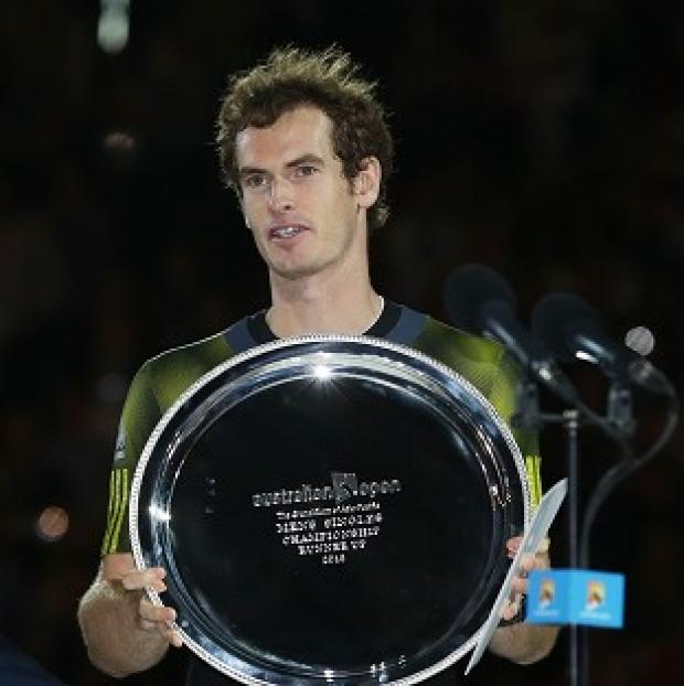 Andy Murray was defeated by three sets to one by Novak Djokovic in the Australia Open final - his third grand slam final in a row (AP)