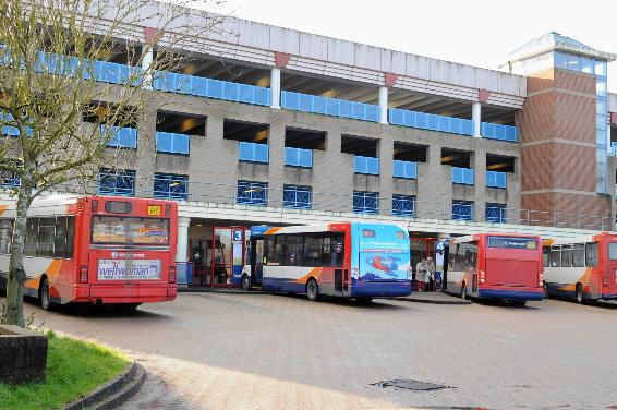 Work starts on Andover's new bus station in the spring