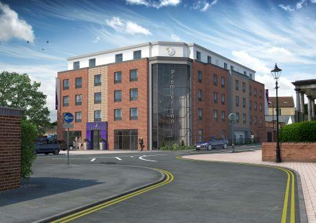 An artist's impression of the new hotel