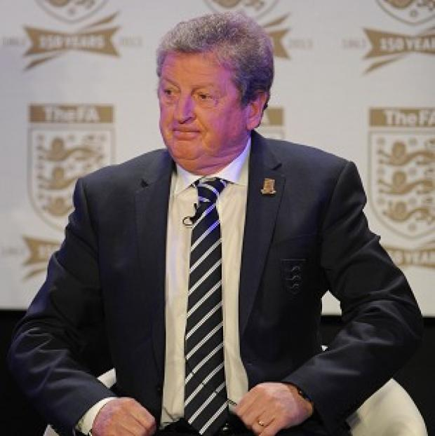 Roy Hodgson, pictured, does not expect David Beckham to play for England again