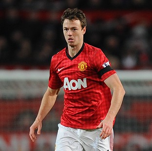 Jonny Evans has been sidelined with a hamstring injury but could return this weekend