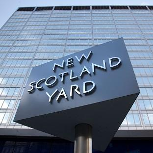 The 46-year-old female police officer was arrested in central London on Friday