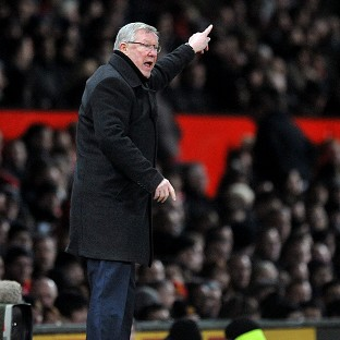 Sir Alex Ferguson, pictured, criticised assistant referee Simon Beck when Manchester United played Tottenham
