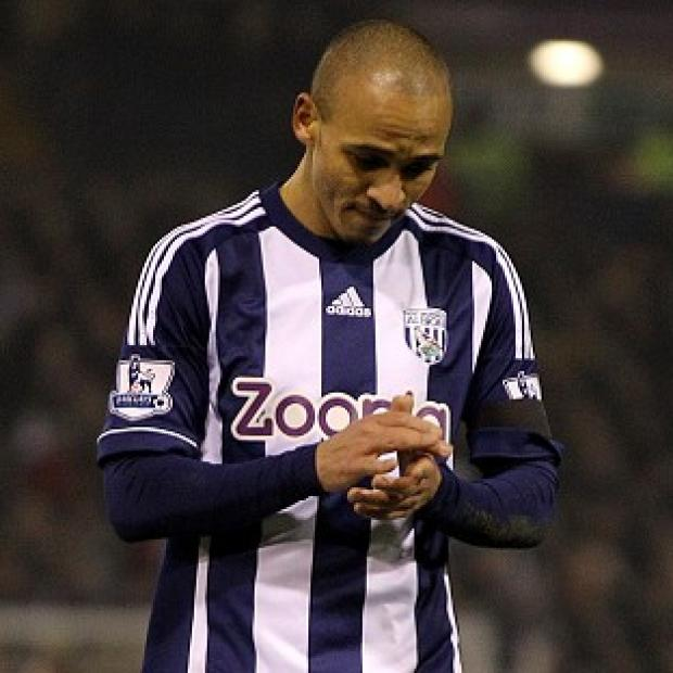 Peter Odemwingie, pictured, could play for West Brom again, according to manager Steve Clarke