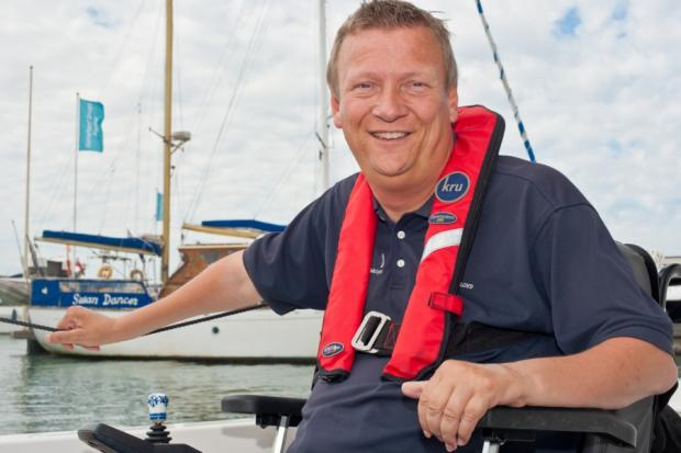 Sailor Geoff Holt who will be opening the Business Works 2013 event.