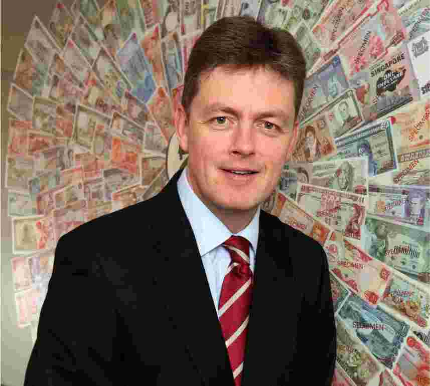 De La Rue's chief executive officer Tim Cobbold