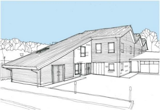 Andover Advertiser: An artists' impression of the Emmaus development