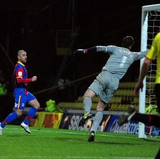 Kevin Phillips, left, netted a second-half equaliser to claim a point against Watford