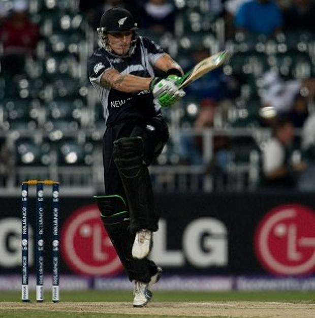 Brendon McCullum's 74 helped New Zealand to a comfortable win in Hamilton