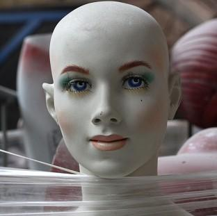 Paramedics called to the scene of an emergency found that a mannequin had been left in a parked car