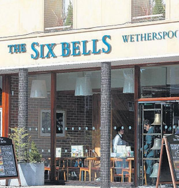 Andover Advertiser: OPENING: The Six Bells pub