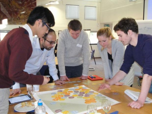 University of Southampton students are put through their paces.