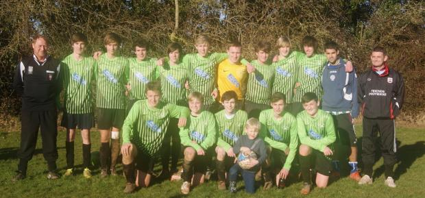 New Street U16 are champions of the Peter Houseman Youth League