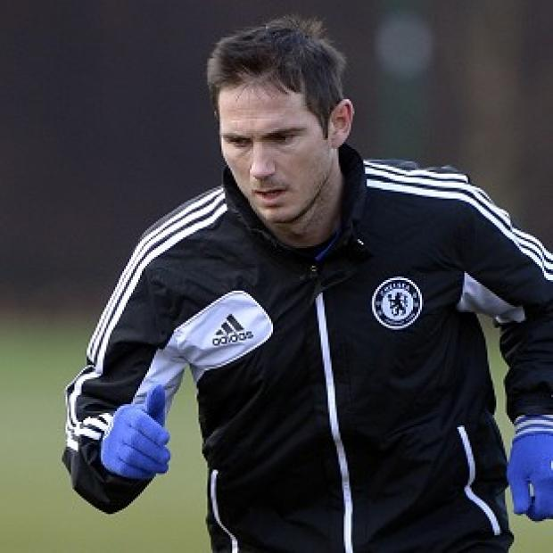 Frank Lampard will be rested for Chelsea's Europa League tie against Sparta Prague