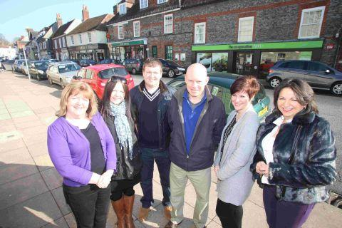 Andover Advertiser: High Street traders in Bishop's Waltham are enjoying success despite a national economic downturn