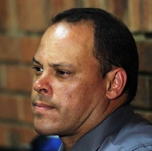 The lead detective in the Oscar Pistorius investigation, Hilton Botha, pictured, has been dropped from the case (AP)