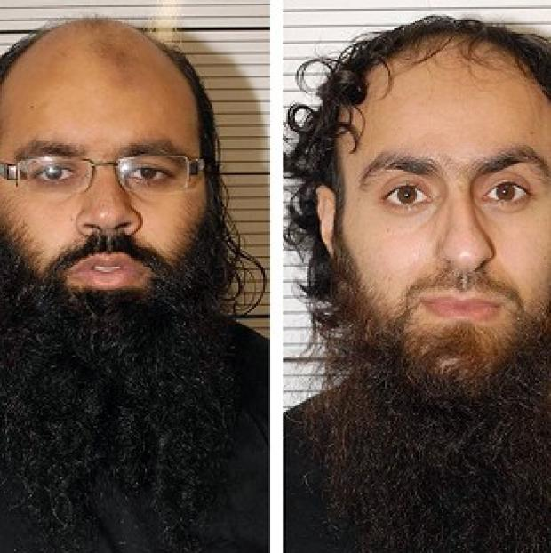 Andover Advertiser: Irfan Naseer, left, and Irfan Khalid have been convicted of being 'central figures' in an extremist plot (West Midlands Police/PA)