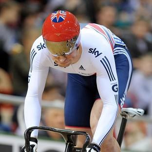 Jason Kenny, pictured, has succeeded Sir Chris Hoy as world keirin champion