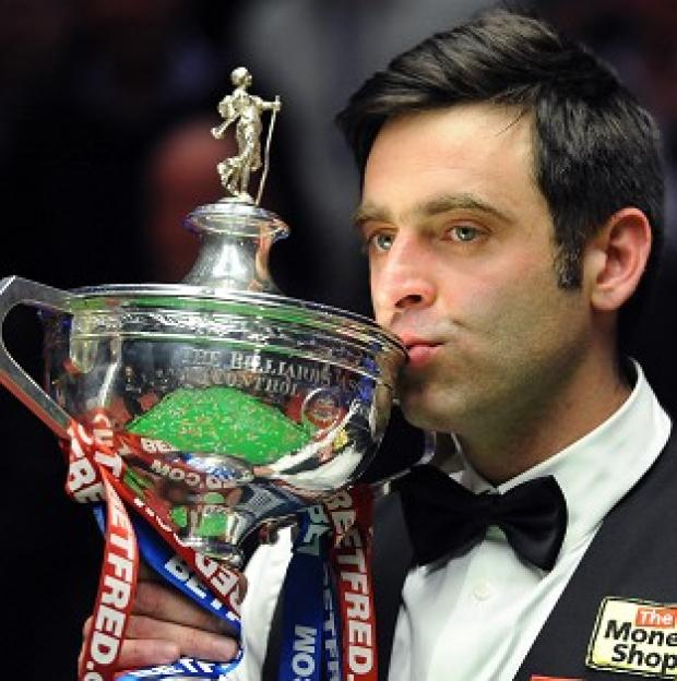 Ronnie O'Sullivan will defend his world title at Sheffield's Crucible Theatre this year