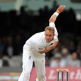 Stuart Broad and the other England bowlers struggled in their final warm-up outing