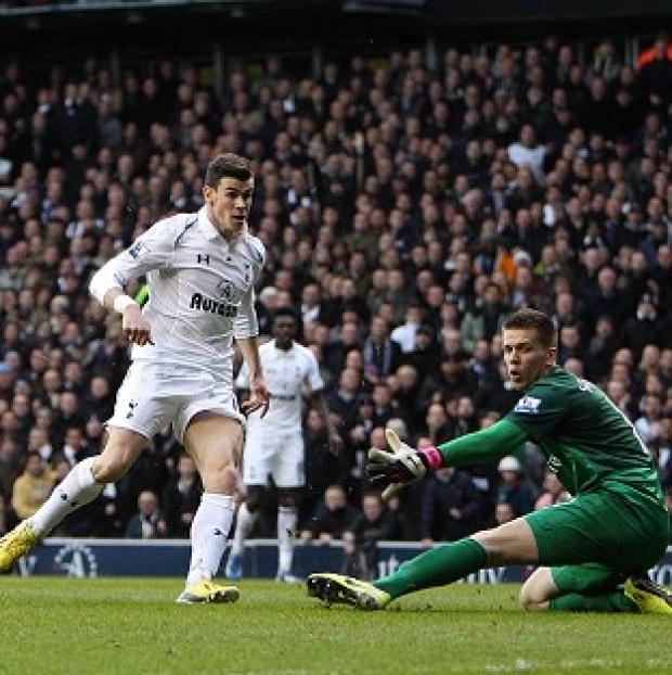 Gareth Bale continued his goalscoring form as Spurs claimed North London bragging rights