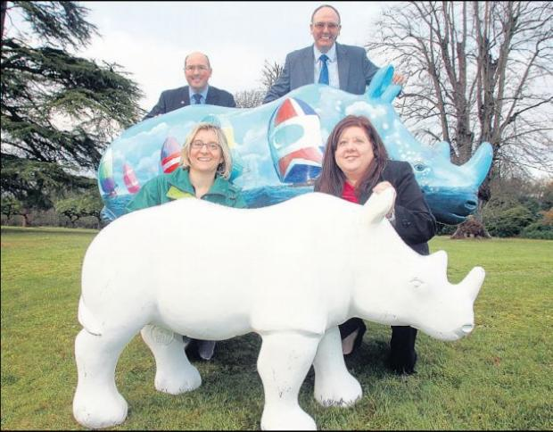 Southampton Hoteliers are among the 17 groups to sponsor a rhino so far.
