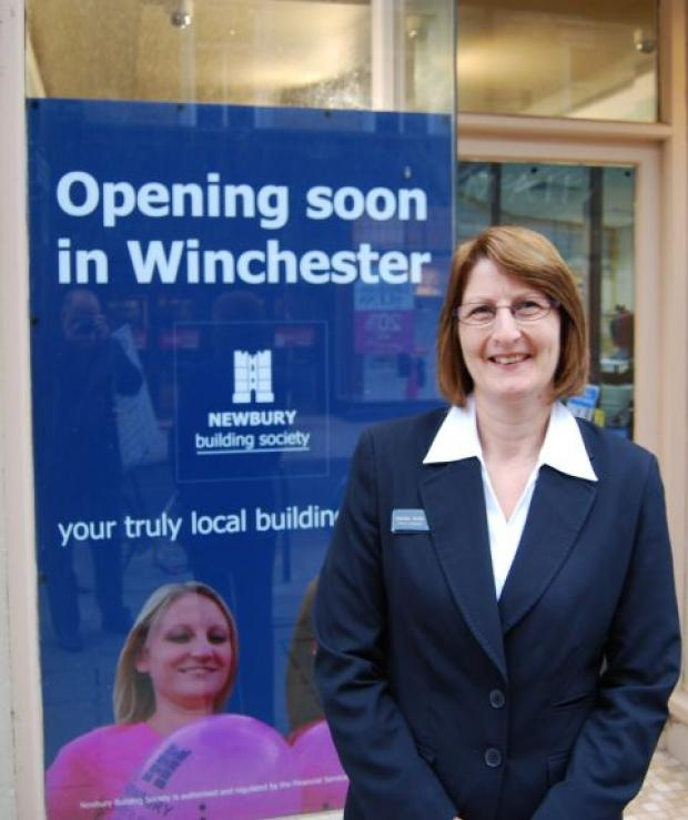 Sandra Smith has been appointed manager of the new Winchester branch of Newbury Building Society