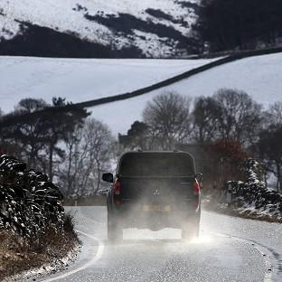 Many homes are still without power for a sixth day after heavy snowfall in Scotland