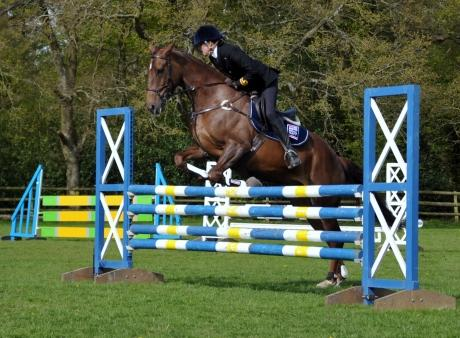 Top riders take part in the first Forces Equine Games at Heckfield