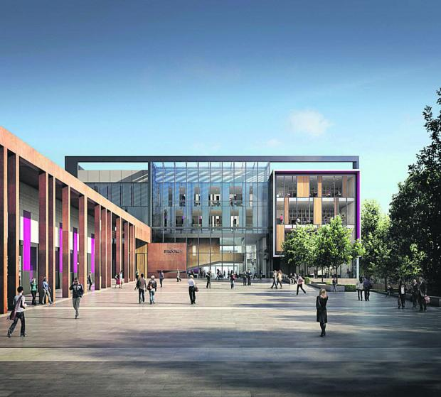 Andover Advertiser: Design Engine's work on the John Henry Brookes Building at Oxford Brookes University has been nominated for a RIBA Award