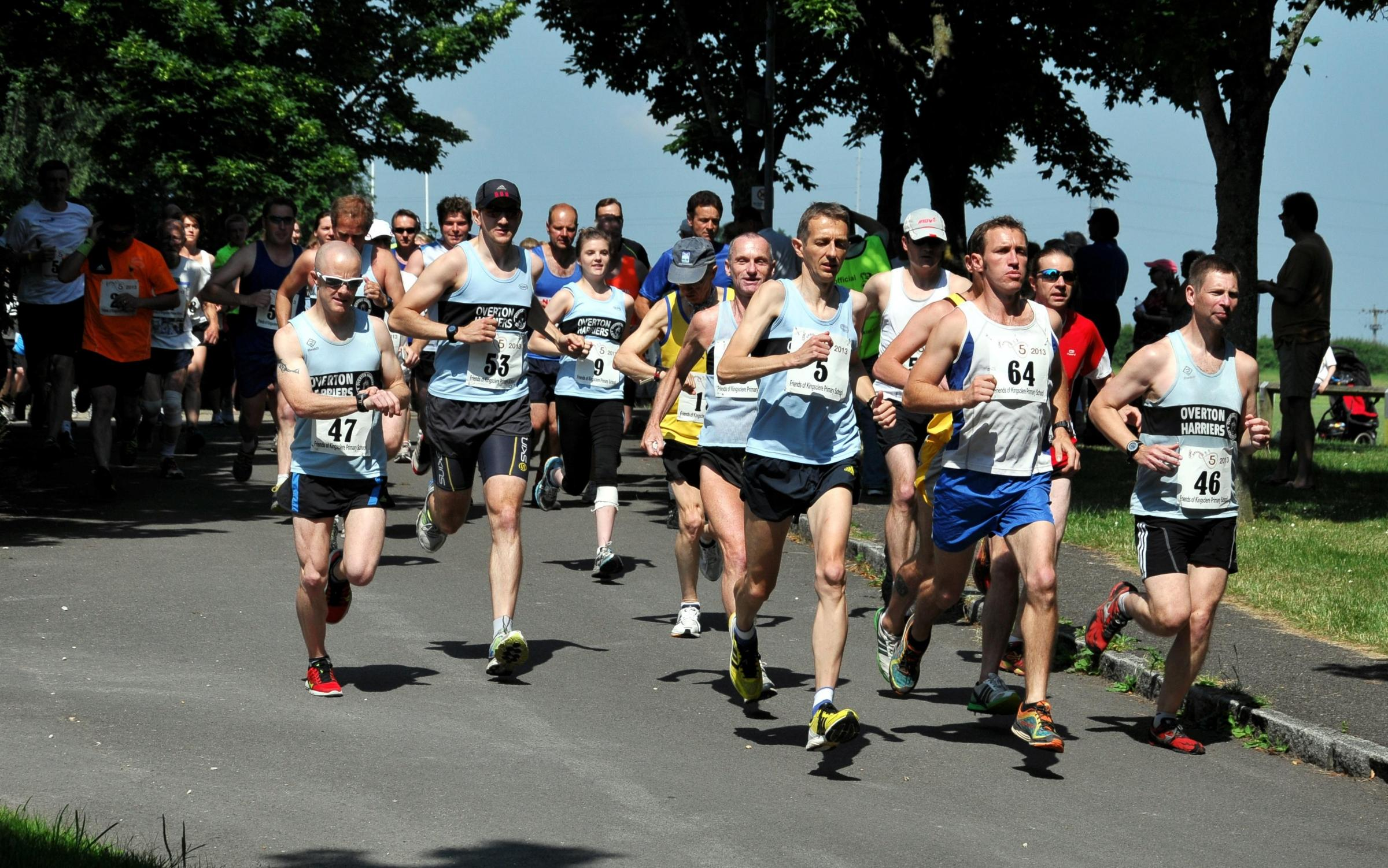 Runners take part in Twist Kingsclere