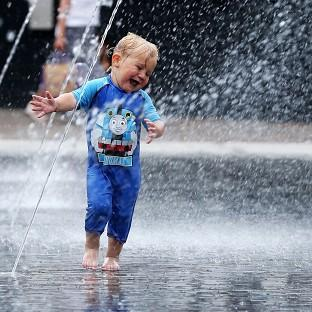 The heatwave will come to an end with thunderstorms, forecasters say