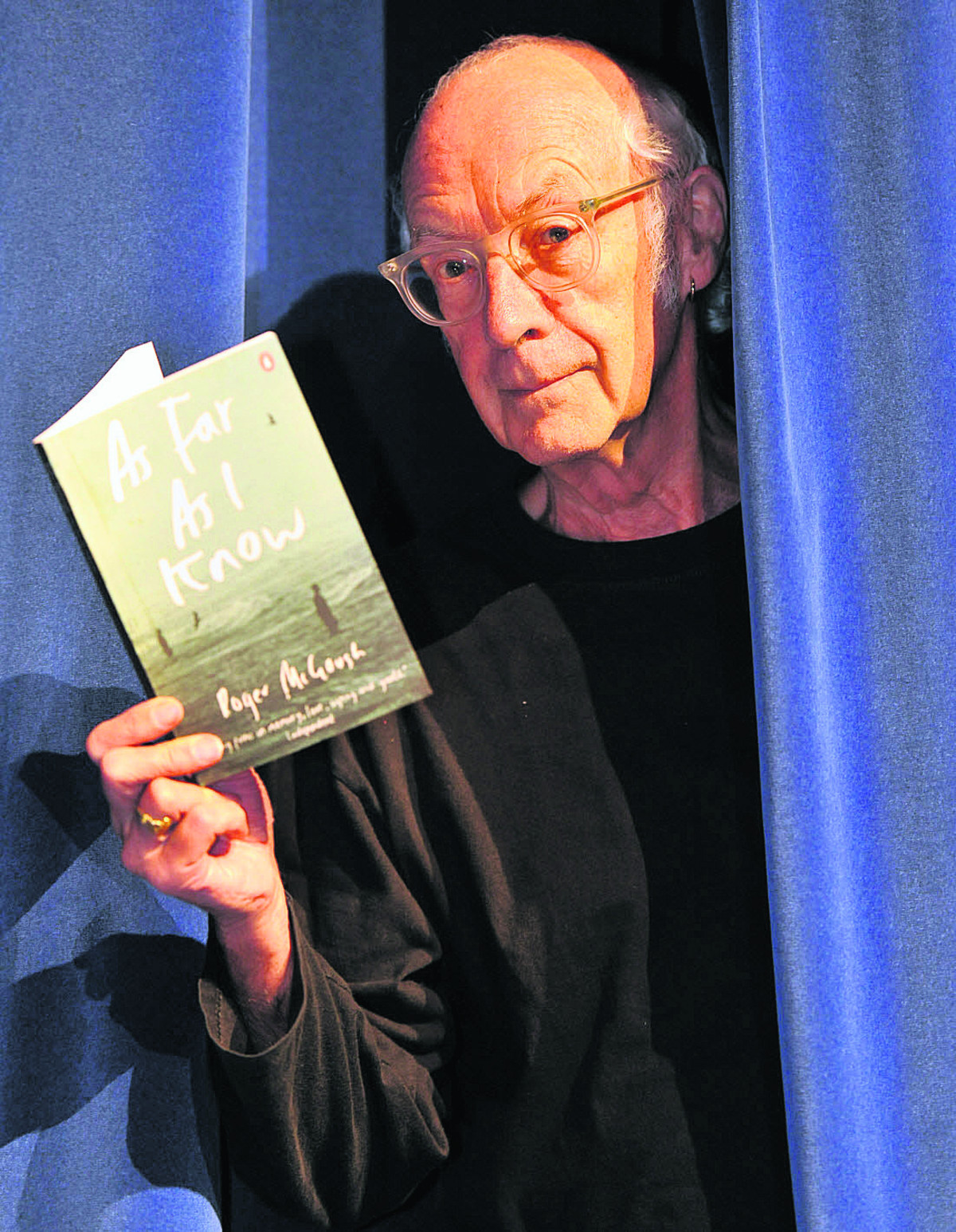 Roger McGough: at event to launch Friends of festival on February 5