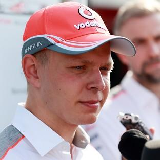 Kevin Magnussen, pictured, takes over from Sergio Perez at McLaren