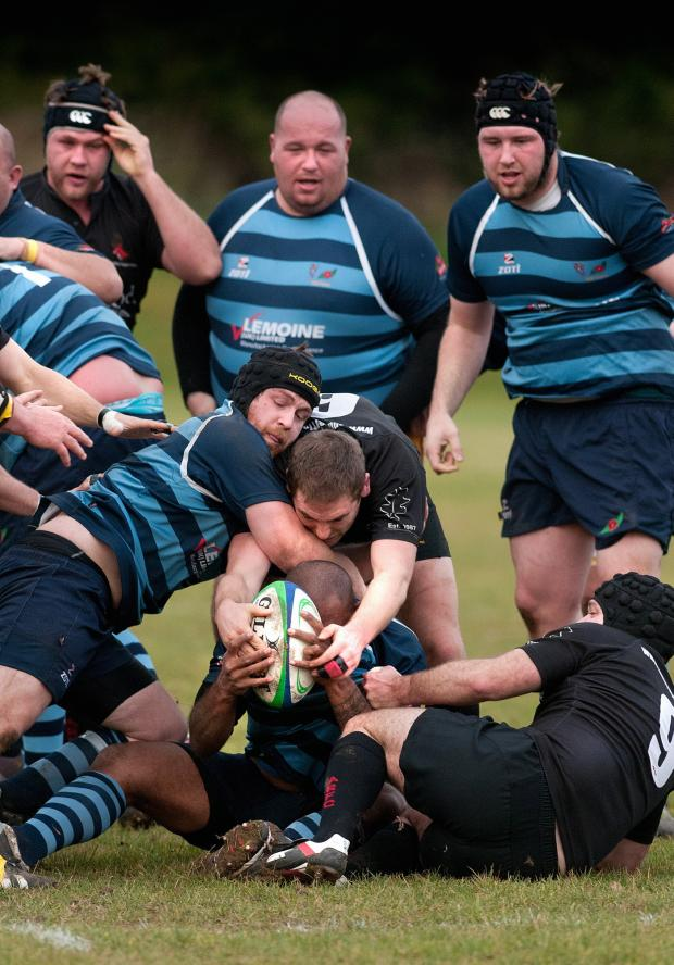 Andover Advertiser: The All Blacks crushed Farnborough on Saturday to stay top of the table