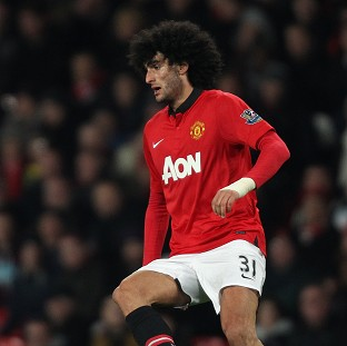Marouane Fellaini has been carrying back and wrist injuries