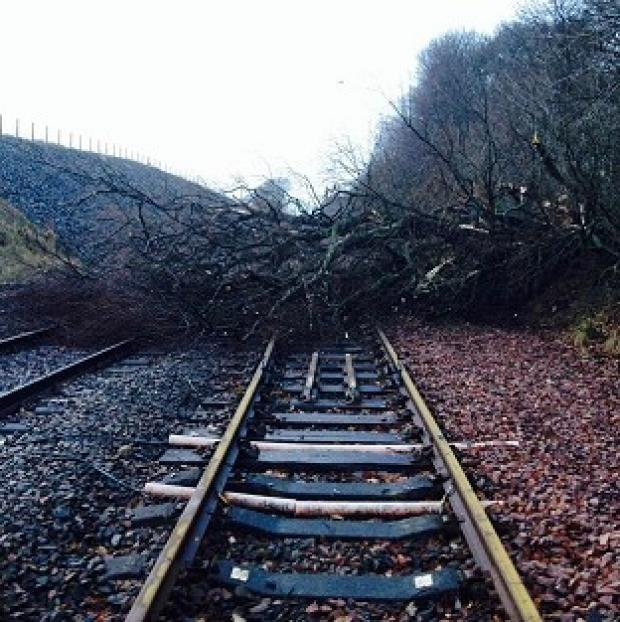 Andover Advertiser: Road and rail travellers faced more misery as storms continue to batter Britain