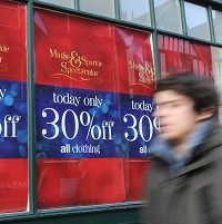 Early discounts to attract shoppers