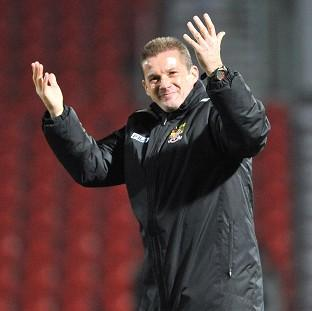 Graham Westley's side will welcome Everton to the Lamex Stadium in the fourth round