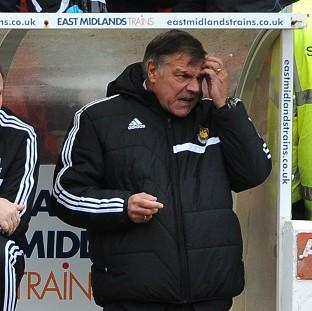 Sam Allardyce feels he has to start getting results