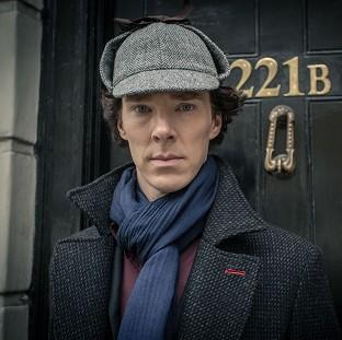 Benedict Cumberbatch's real-life parents were cast in Sherlock.