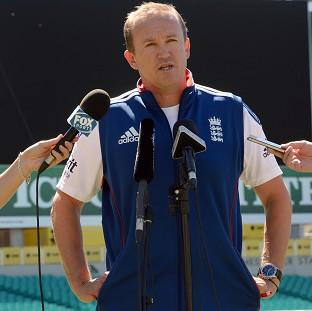 Andover Advertiser: Andy Flower has committed himself to staying on as England Test coach and team director