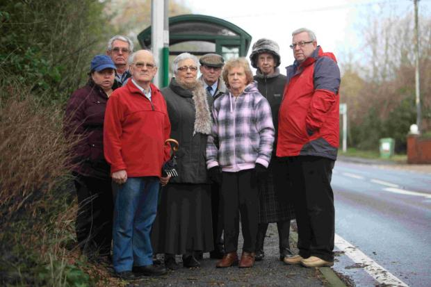 Andover Advertiser: Parishioners in Colden Common and Twyford campaigned relentlessly demanding a much needed bus service after ongoing mains water works closed roads at Fisher's Pond