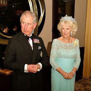 Charles and Camilla were heading to the Hay-on-Wye Festival when the incident occurred