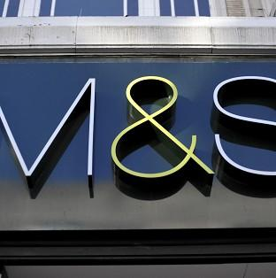 Andover Advertiser: Marks and Spencer has admitted that its clothing and homewares division continued to struggle.