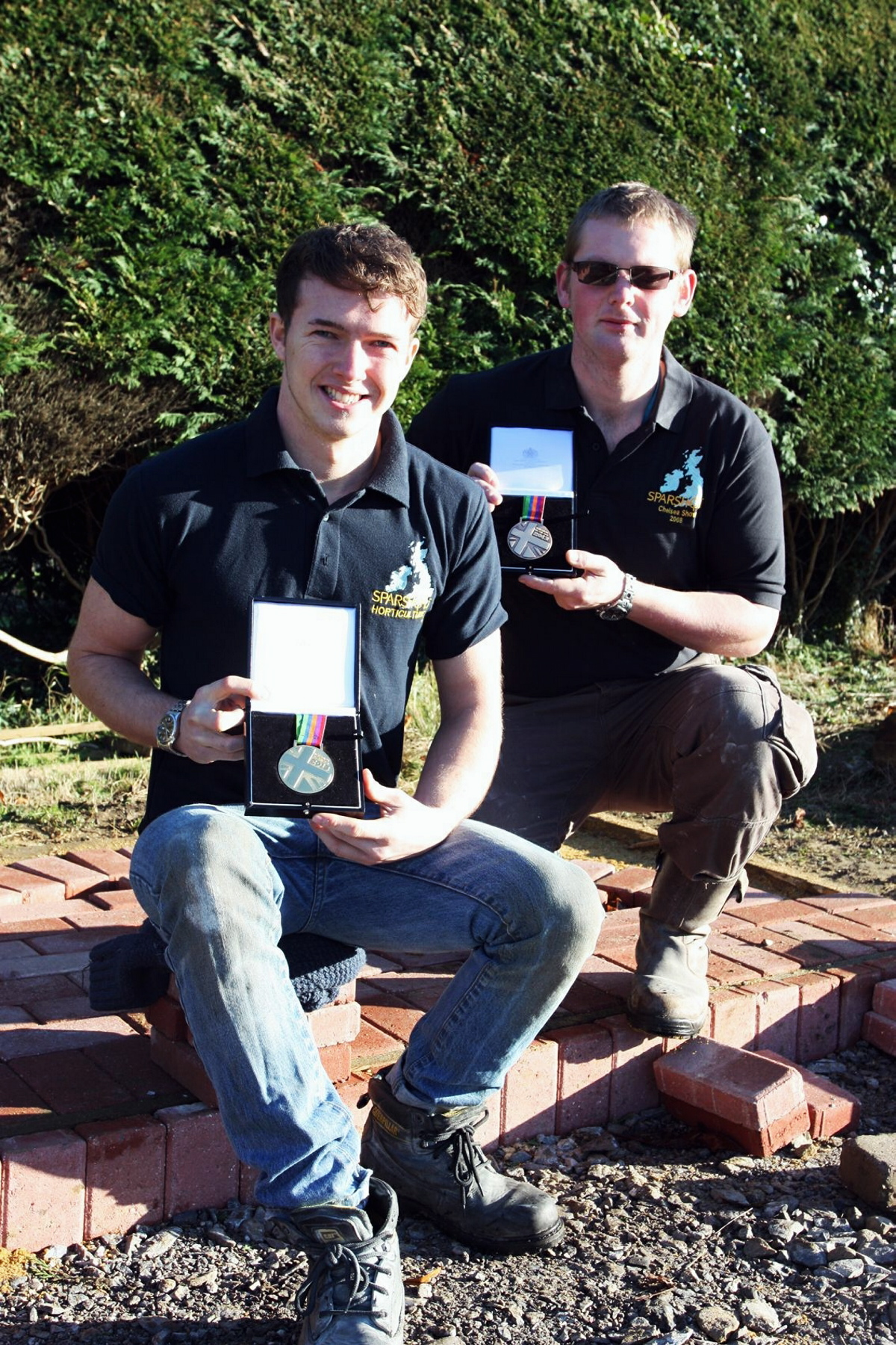 Horticultural students win medals at contest